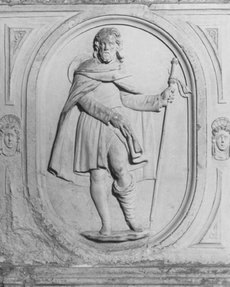 San Rocco (rilievo) di Pittoni Girolamo Da Lumignano (sec. XVI)