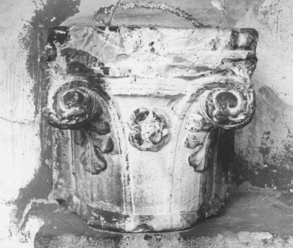 capitello - ambito veneto (ultimo quarto sec. XV)