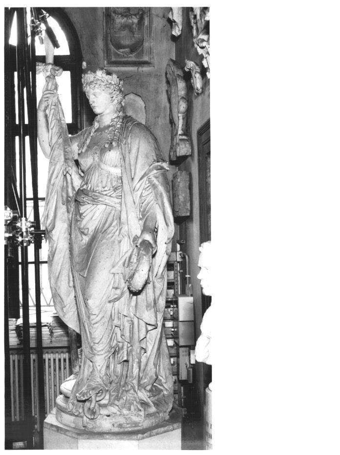 allegoria della Provincia di Treviso (statua) di Borro Luigi (sec. XIX)