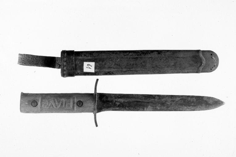 pugnale - manifattura italiana (?) (sec. XX)